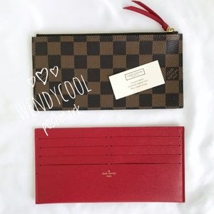 LOUIS VUITTON Felicie Pochette Insert Card holder
